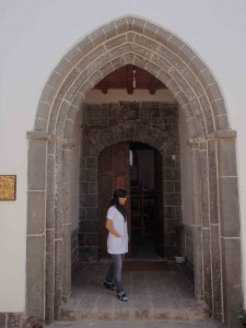 Protestant Kilisesi entrance, Diyarbakir