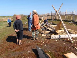 And now, the reason we're here: the restored Viking site at L'Anse aux Meadows. Parks Canada has done a great job recreating this piece of history.