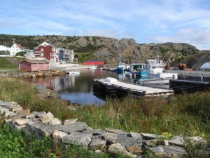 This is Brigus, a wonderfully preserved village on Conception Bay, just west of St John's.
