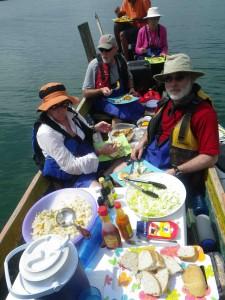 lunch aboard
