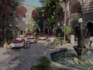 Otel Buyuk Kervansaray restaurant, Diyarbakir
